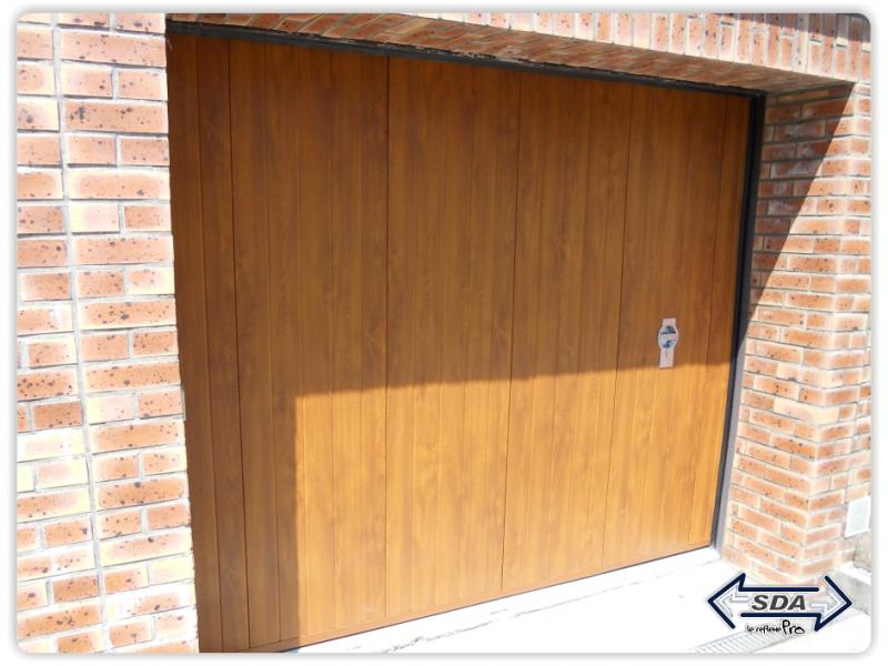Porte de garage battantes pvc touat menuiserie - Portes de garage battantes ...